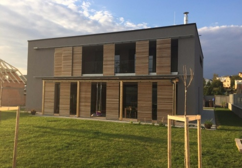 House in Beroun - under construction